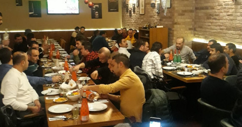 Ankara Team's New Year's Dinner...